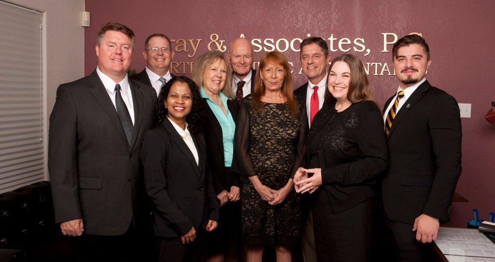 gray and associates team